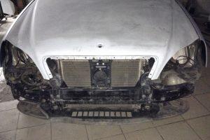 Полная перекраска Mercedes w220