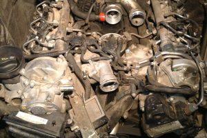 Удаление вихревых заслонок впускного коллектора двигателя Mercedes OM 642 (Мерседес ОМ642)
