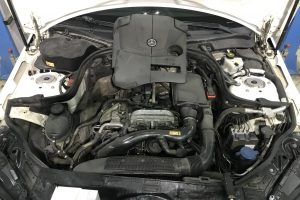 Чистка дроссельной заслонки Mercedes M274